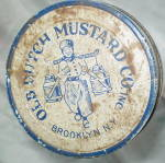 Click to view larger image of Ball Food Glass Jar - Old Dutch Mustard Company (Image2)