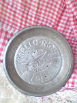 Click here to enlarge image and see more about item KC-414: Antique 1930 Mrs. Smith Mello-Rich Pie Tin
