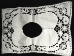 Click to view larger image of Antique Handmade Cutwork Lace Collar (Image1)