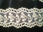 Click to view larger image of  Needle Lace Vintage Hand Detailed Machine Embroidered (Image7)