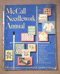 Click here to enlarge image and see more about item M-104: Vintage 1950 McCall Needlework Annual