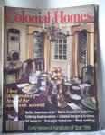 Click here to enlarge image and see more about item M-109: Antiques Colonial Homes Magazine 1984