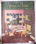 Click here to enlarge image and see more about item PAM-123: Vintage 1944 American Home Magazine