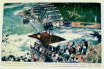 Click here to enlarge image and see more about item PR-147: Vintage Postcard-Niagra Falls Spanish Aero Cable Car