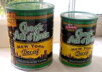Click to view larger image of Twin Towers Skyline on Chock Full o' Nuts Coffee Tin 2000 (Image2)