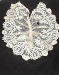Click to view larger image of Vintage 1860-1875 Ladies Handmade Lace Jabot (Image5)