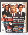 Click here to enlarge image and see more about item VM-193: Nirvana Rolling Stone Magazine January 1994