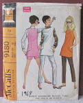 Click to view larger image of Vintage 1968 Womens Separates Tunic,Slacks,Shorts (Image1)