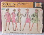 Click here to enlarge image and see more about item VSP-2132: 1969 Ladies Ensemble/Coat,Dress & Jacket Pattern