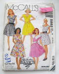 Click to view larger image of Vintage McCall's Ladies Summer Dress Patterns (Image1)