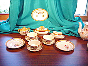 MADE IN JAPAN CHILD'S SOUP SET-LUSTROUS (Image1)