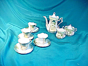 RARE RS PRUSSIA MORNING GLORY CHILDS SET (Image1)