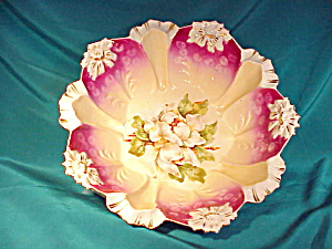 RS PRUSSIA(RM) BLOWN MOLD MAGENTA BOWL (Image1)