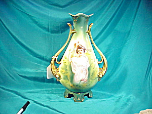 RS PRUSSIA(RM) LG TWO HANDLE SUMMER VASE (Image1)