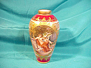 RS PRUSSIA(ROYAL VIENNA) WAGNER H.P.VASE (Image1)