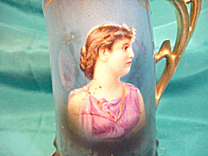 RS PRUSSIA(SAXE ALTENBURG) PORTRAIT PITCHER (Image1)