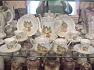RS Prussia Scenic child's tea set (Image1)