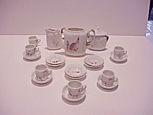 Rs Prussia Admiral Peary Doll Size Teaset
