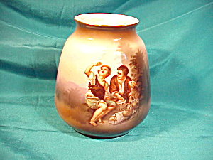 RS PRUSSIA(SUHL) MELON EATER VASE (Image1)