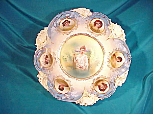 RS PRUSSIA(RM)6 PORTRAIT BOWL W/SPRING (Image1)