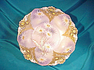 RS PRUSSIA(UM) LILY MOLD H.P. BOWL W/GOLD (Image1)