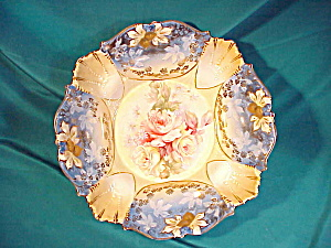 RS PRUSSIA(UM) MOLD 339 B IN B W/GOLD BOWL (Image1)