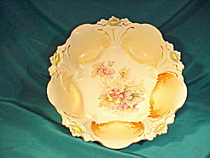 RS PRUSSIA(UM)  LILY MOLD FLORAL BOWL (Image1)