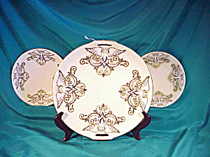 RARE RS PRUSSIA(GERMANY) ANGEL CAKE SET (Image1)
