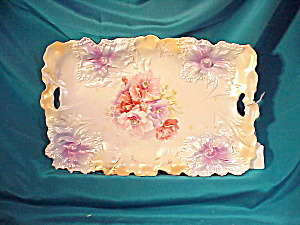 RS PRUSSIA O.H. DRESSER TRAY/CARNATION MOLD (Image1)