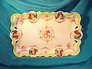 RS PRUSSIA PORT.MEDALLION O.H. DRESSER TRAY (Image1)