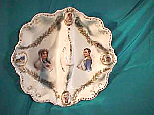 RS PRUSSIA (ES) Divided bowl with Portraits and Cameos (Image1)