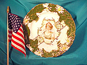 Rs Prussia (Steeple Mark) Queen Louise Plate
