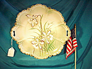 Rs Prussia Mold 256 O.h. Mint Daffodil Plate