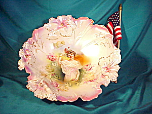RARE RS PRUSSIA CARNATION MOLD SUMMER PORT. (Image1)