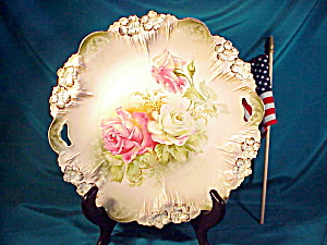 Rs Prussia O.h. Icicle Mold Cake Plate