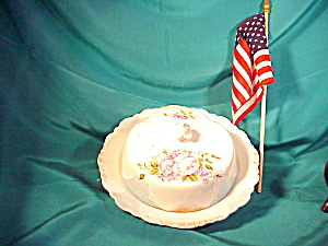 UNMARKED COVERED BUTTER DISH (Image1)