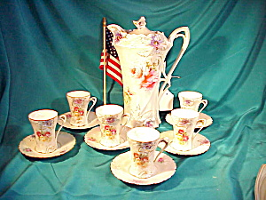 SATIN RS PRUSSIA W/TIFF.14 PC.. CARNATION CHO (Image1)