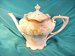 RS PRUSSIA (RM) SATIN FINISH DAINTY TEA POT (Image1)