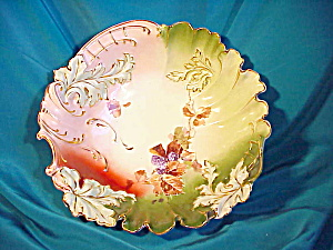 RS PRUSSIA EARLY LEAF MOLD BOWL/BLACKBERRY (Image1)