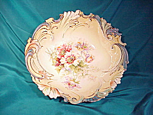 RS PRUSSIA(UM) BLOWN LEAF MOLD BOWL (Image1)