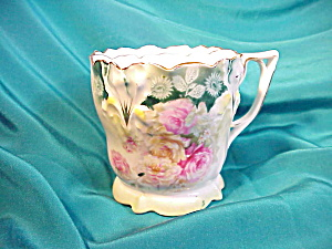 RS PRUSSIA(RM) LILY MOLD FLORAL SHAVING MUG (Image1)