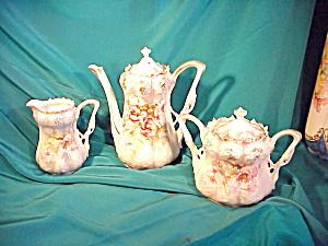 EXQUISITE RS PRUSSIA TEA SET STRAWBERRY MOLD (Image1)