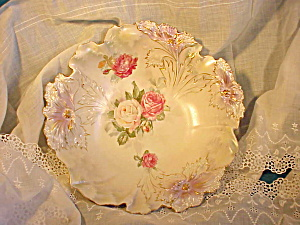 RS PRUSSIA TIFFANY-SATIN CARNATION MOLD BOWL (Image1)