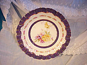 RS PRUSSIA TIFFANY SCALLOPED PLATE (Image1)