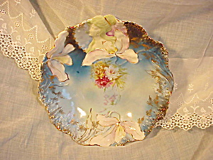 RARE RS PRUSSIA HIDDEN IMAGE DARK BLUE BOWL (Image1)