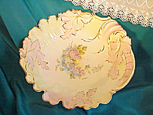 RS PRUSSIA EARLY YEARS LEAF MOLD BOWL W/LILAC (Image1)