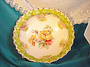 RS PRUSSIA STEEPLE MOLD FLORAL BOWL (Image1)