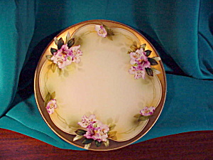 RS PRUSSIA GOLD EDGED ART DECO PLATE (Image1)