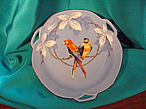 RS PRUSSIA TRI-HANDLED PARROT PLATE (Image1)