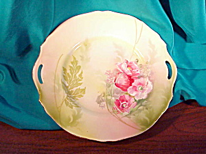 RS PRUSSIA O.H. COOKIE PLATE W/POPPIES (Image1)